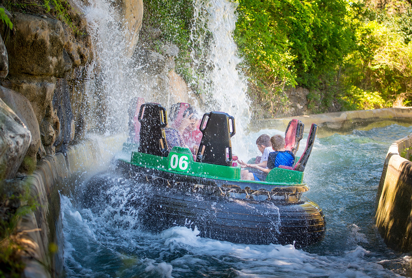 SeaWorld San Antonio Rio Loco Water Ride